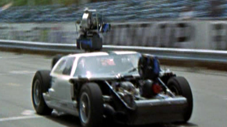 Ford Gt 40 As A Camera Car For The Film Grand Prix Ford Gt Car Ford Ford Classic Cars