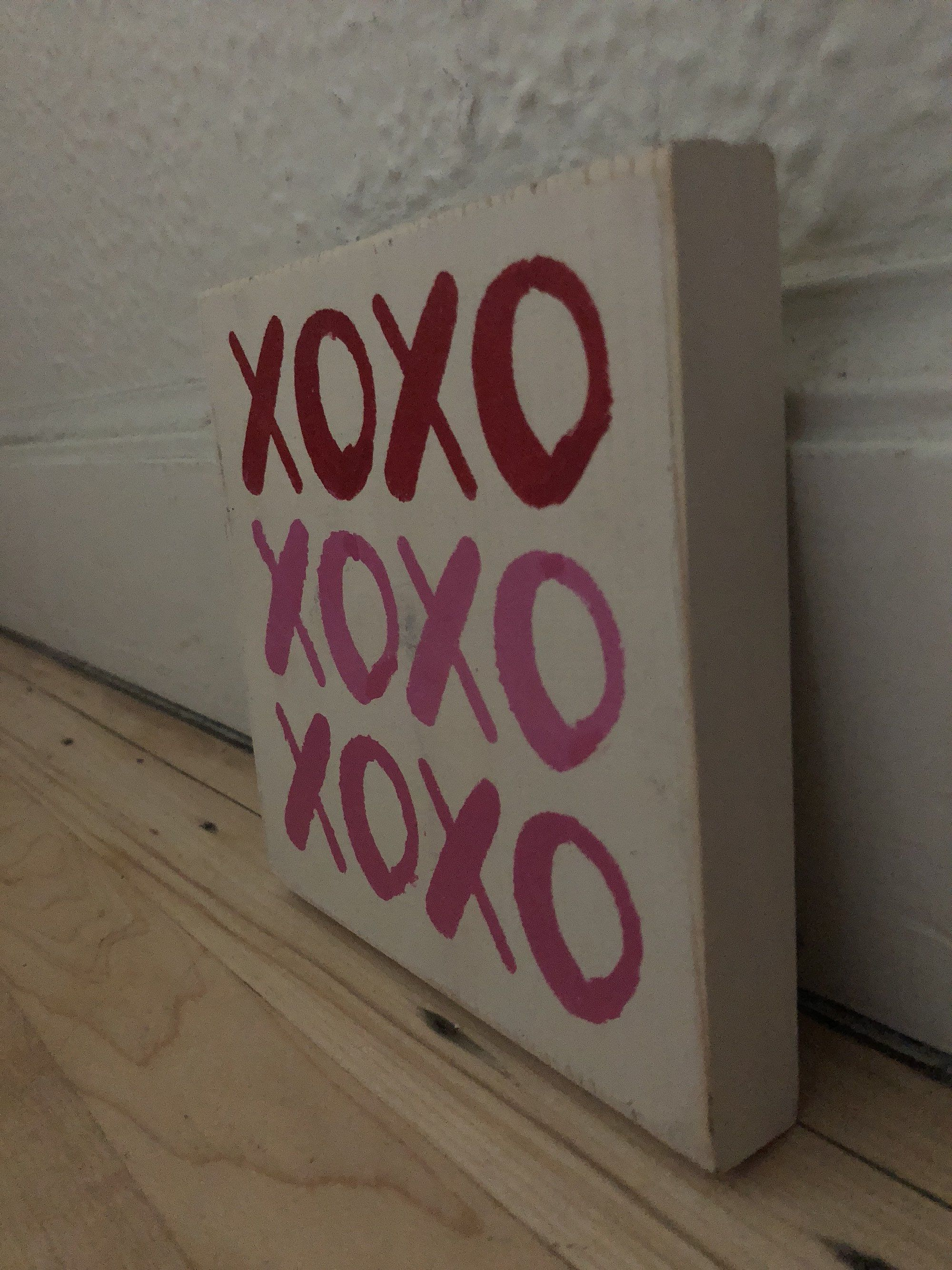 Xoxo Love Sign Valentine S Day Decor Pink And Red Decor
