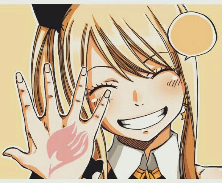 "Lucy  ""Fairy tail isn't gone yet, it will always be in our hearts."""