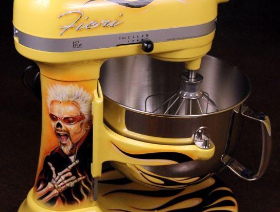 Custom Kitchenaid Mixers Custom Painted Kitchenaid Mixer