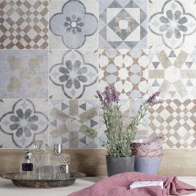 Piastrella villa 20 x 20 cm multicolor home cool home pinterest piastrelle cucine e - Leroy merlin piastrelle ...