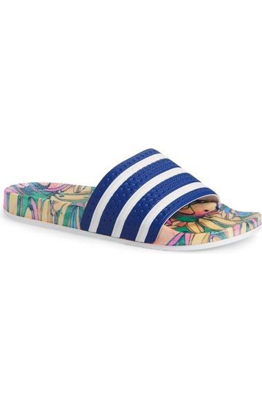 63ddcb6043275c adidas  Adilette - Supercloud Plus  Print Slide Sandal (Women) available at   Nordstrom