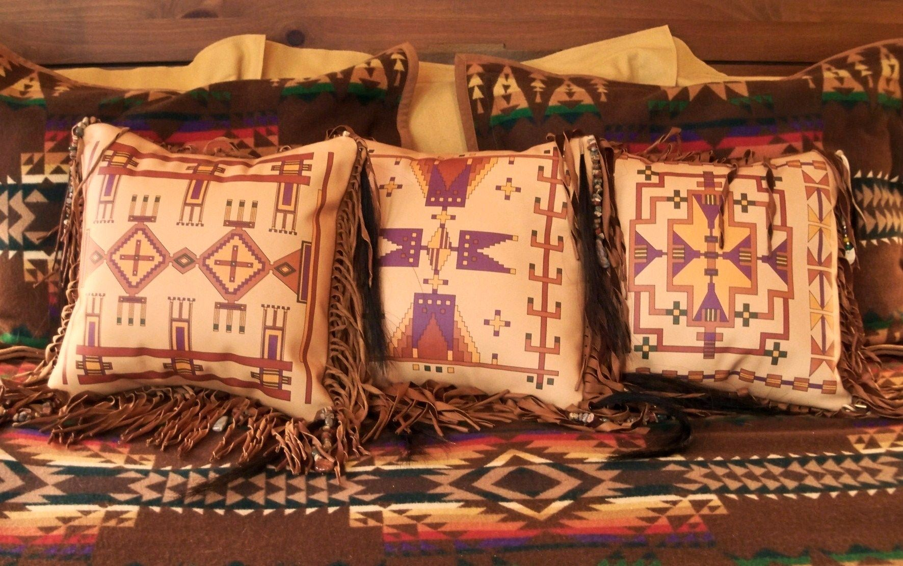 New Native American Pillow Collection, Now Available At