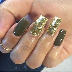 olive green \u0026 gold