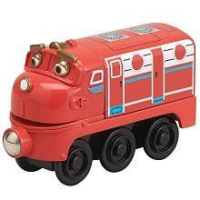 Chuggington Wooden Railway Wilson By Tomy 9 32 Ages 2 Years And Up Collect All Of Your Favorite Chuggington Characters Toy Train Classic Toys Wooden Train