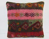 "pastel decorative pillow pastel throw pillow 16x16 kilim pillow 16""pillow cover throw pillow kilim outdoor pillow case bohemian pillow 29488"