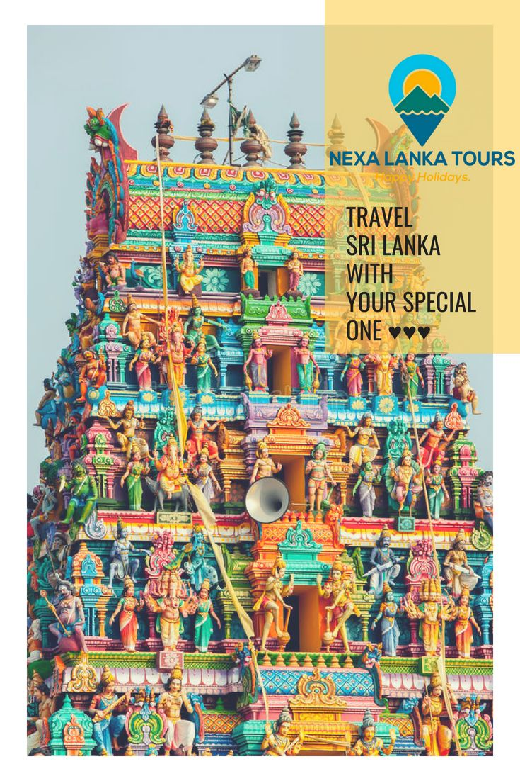 """Nexlanka Tours """"The man who goes alone can start today"""