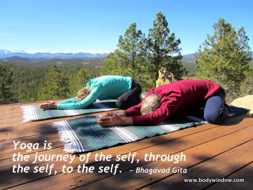 The Wide-Knee Child's Pose in Yin Yoga is a fitting pose ...