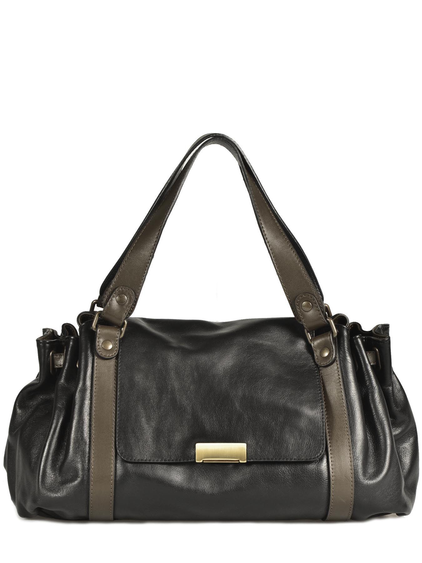 aa86fb22800c Sac à Main Gerard darel Noir bicolore 897-412   Bags   Pinterest   Bag