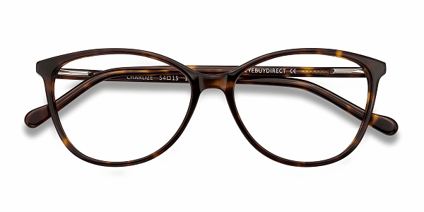27380b684f95 Charlize Tortoise Acetate Eyeglasses from EyeBuyDirect. A fashionable frame  with great quality and an affordable price. Come see to discover your style.