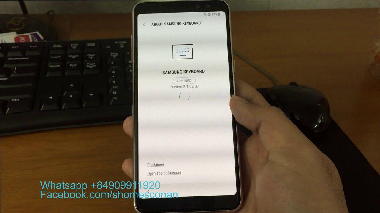 Remove google account FRP Samsung Galaxy A8 2018 A530N
