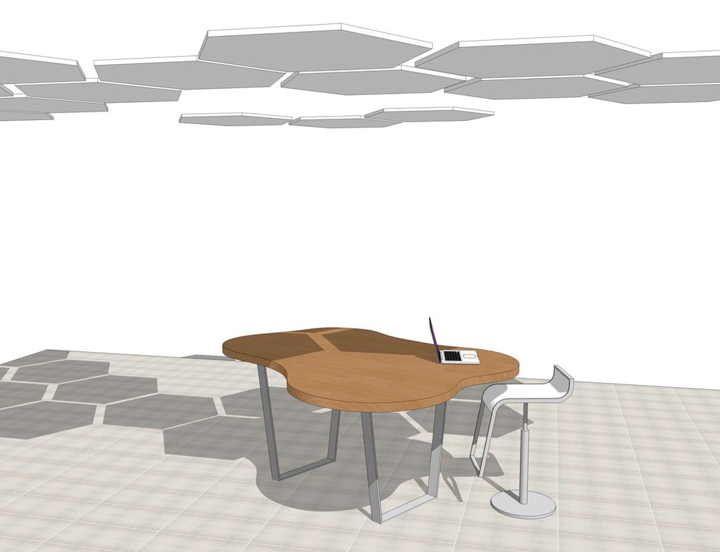 Interior Furniture SketchUp Modeling Table. Furniture DesignModeling