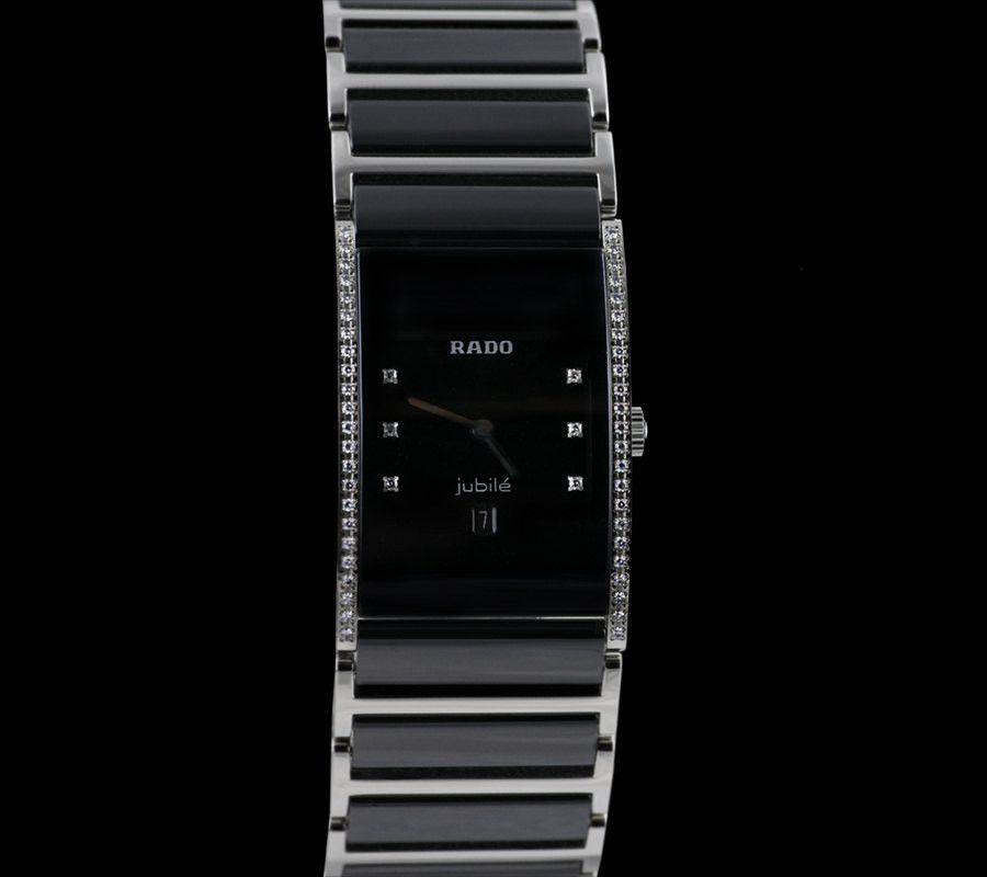 rado integral jubile diamond swiss made watch tungsten 160