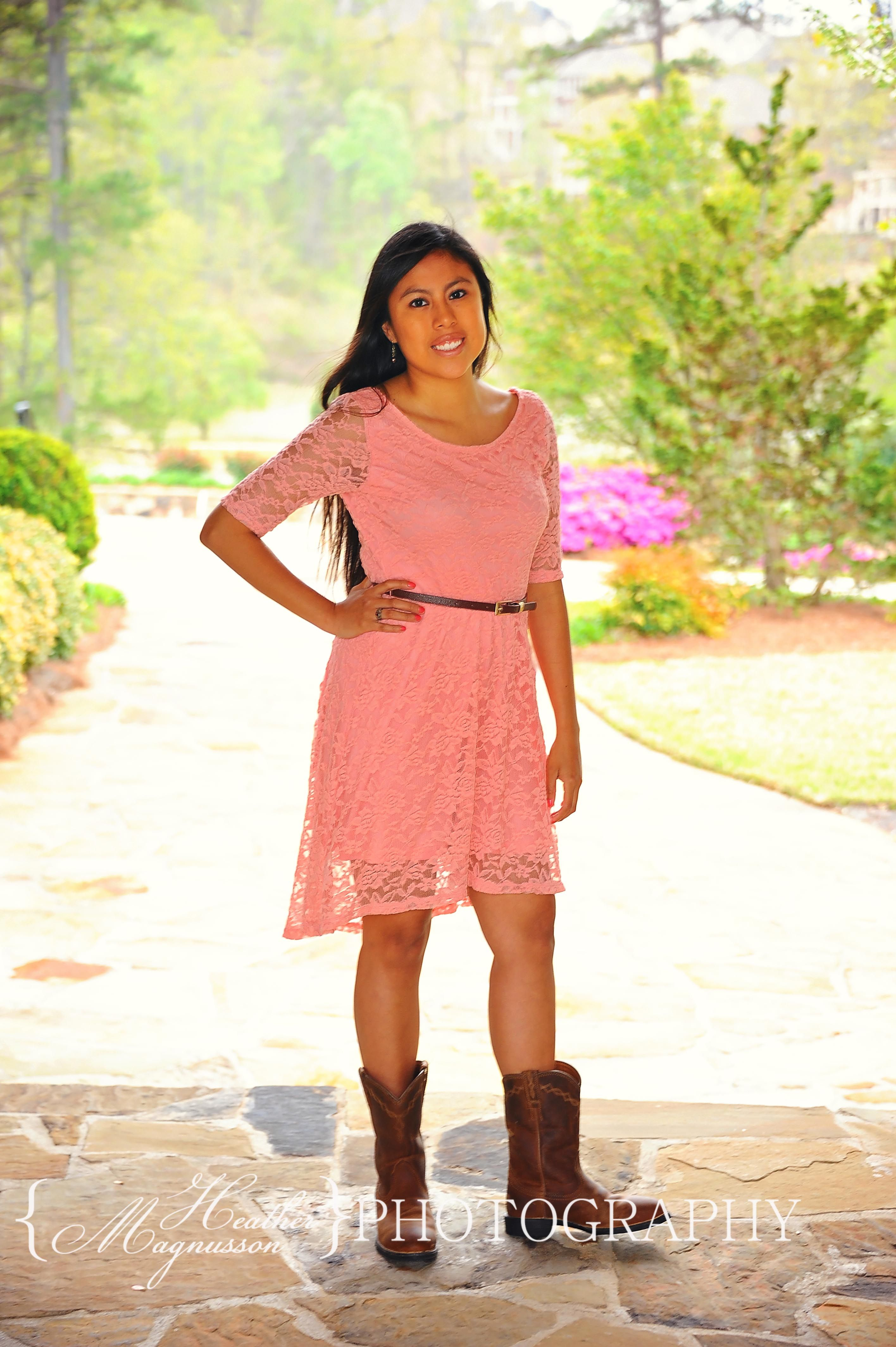 Dress and boots true southern heathermagnussonphotography