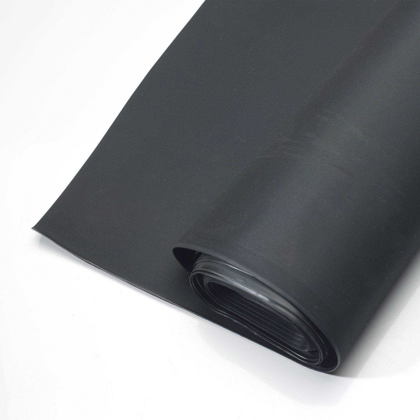 Membrane D Etancheite Pour Toit Plat Easygum Noir L 6 72 X L 0 5 M Iko Toit Plat Etancheite Et Abri De Jardin