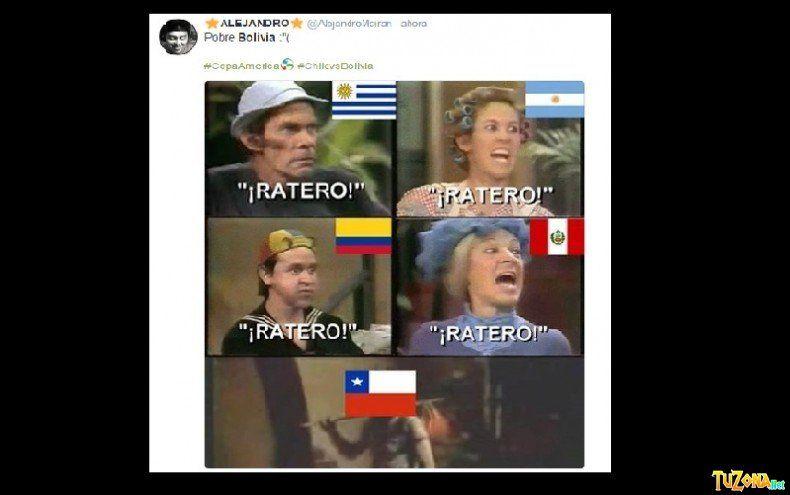 memes Chile vs Bolivia