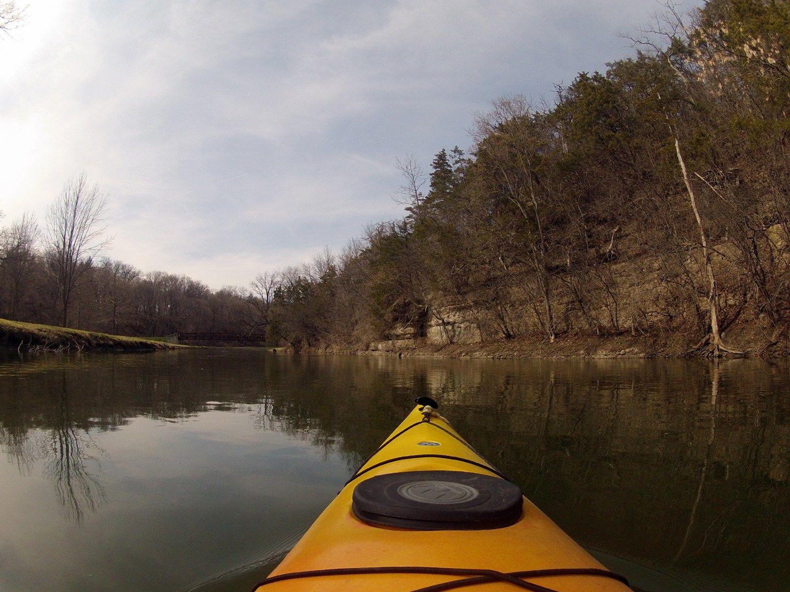 Yellow Creek Miles Paddled Kayaking gear, River