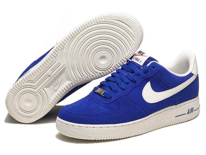 Nike Air Force 1 Low Hyper Blue Sail White 488298 414 Nike Adidas