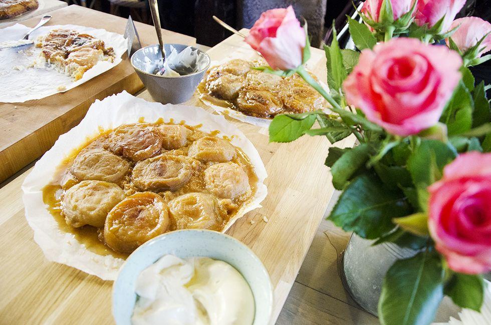 #tartetatin #baking #french #applepie via Love Da Helsinki