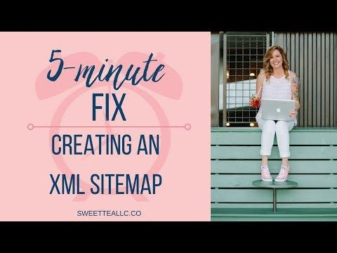 5 minute fix creating an xml sitemap youtube website