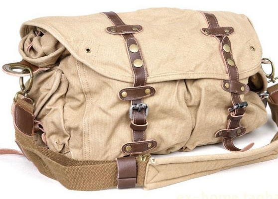 3143f74d5f Vintage Rugged Bike Canvas Messenger Bag  canvasmessengerbag  serbags   messenger