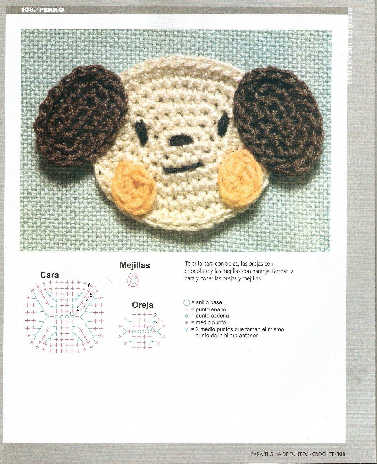Pin de Egliceris Martinez en Crochet Baby | Pinterest | Caras de ...