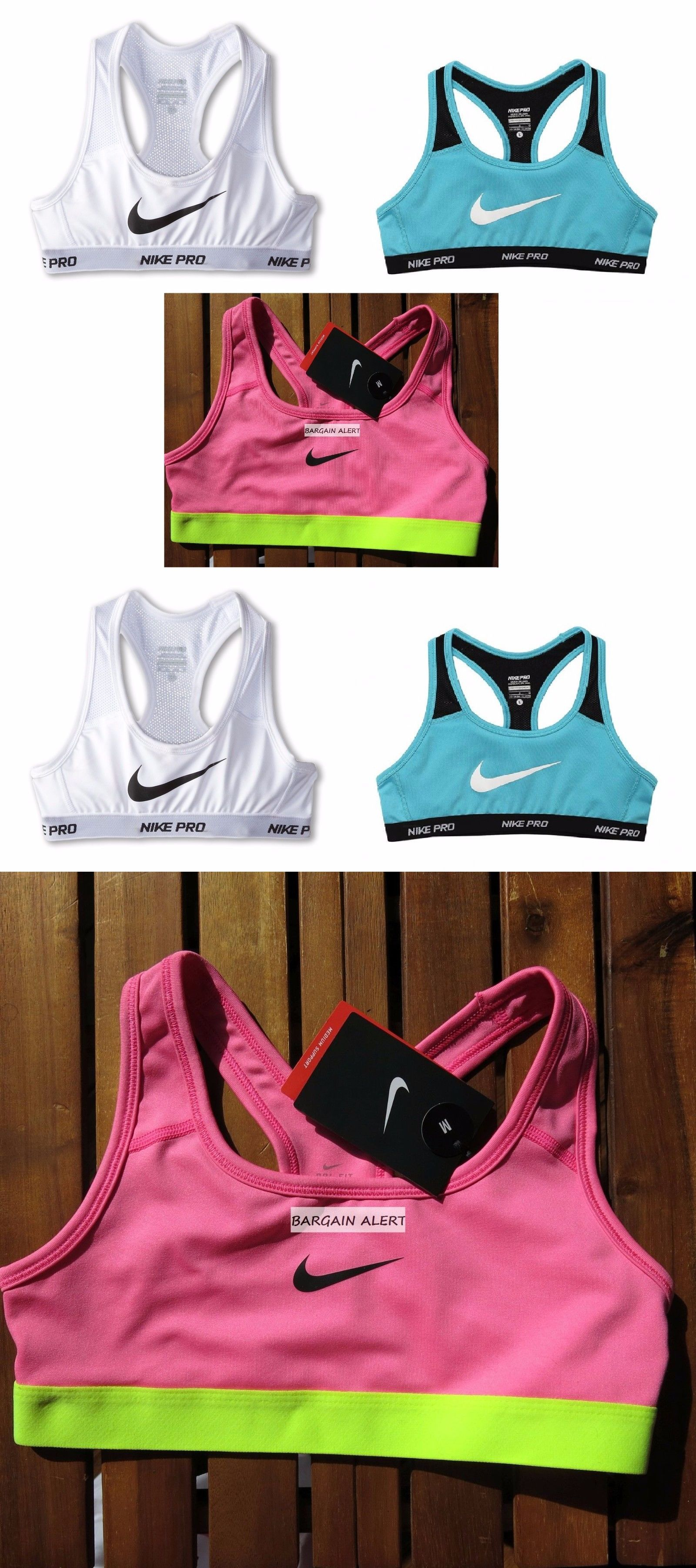 Underwear 51586: Nike Pro Girls Youth Sports Bra ~ Xs Or Small ~ Pink Or