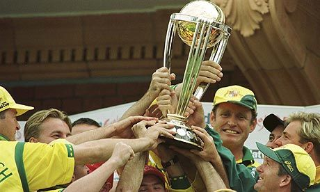 The World Cup Trophy Won By Australia In 1999 2003 And 2007 World Cup Trophy World Cup Cricket World Cup