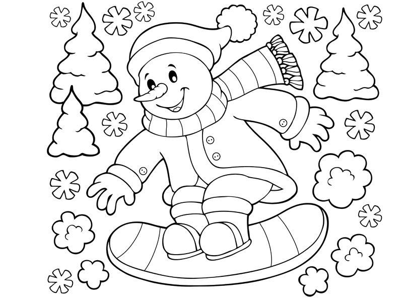30 coloriages d'hiver (2)
