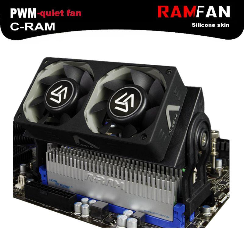 Alseye Ram Memory Cooler Pwm 60mm Computer Fan For Ddr2 3