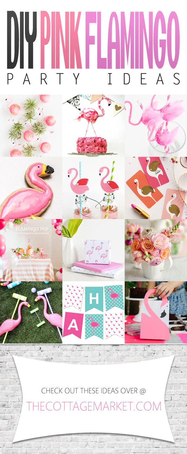 diy pink flamingo party ideas anniversaire camargue pinterest anniversaire flamant rose. Black Bedroom Furniture Sets. Home Design Ideas