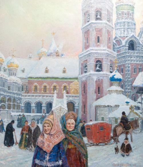 Moscow Kremlin by Sergei Glushkov