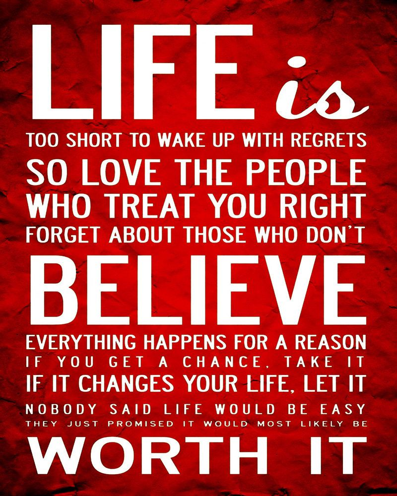 Details about life quote vintage art print poster a1