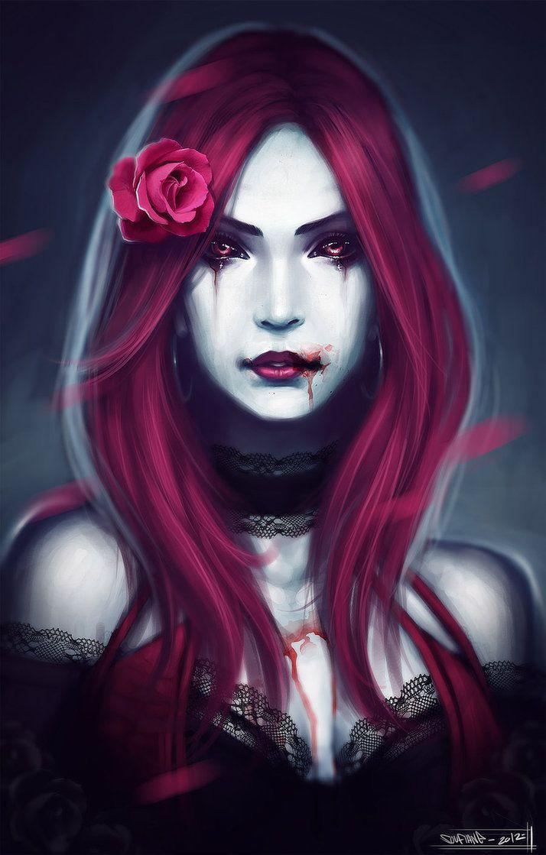 Sex girl vampire goth