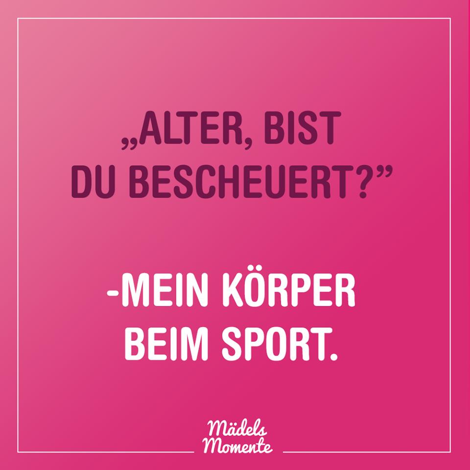 Alter Bist Du Bescheuert Mein Korper Beim Sport Spruche Spruchdestages Memes Lustig Frauen Quotes Lusti Life Lyrics Super Healthy Recipes Quotes