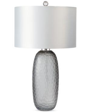 Regina Andrew Design Honeycomb Smoked Glass Lamp