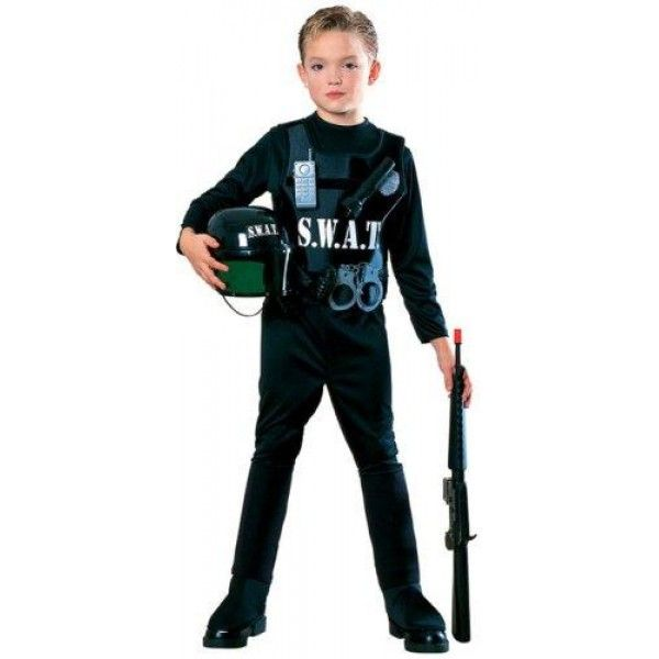 young heroes child's s.w.a.t. team costume, large