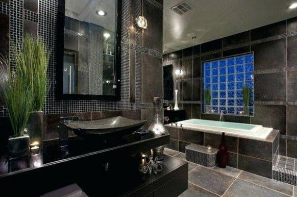 15 Unglaubliche Fakten über Luxus Badezimmer Modern Schwarz ...