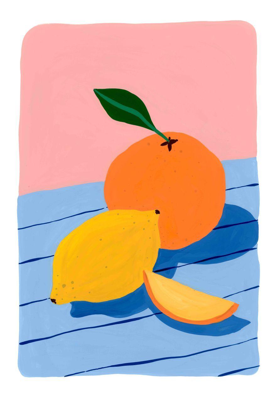 Sun Fruits- Commission Illustration