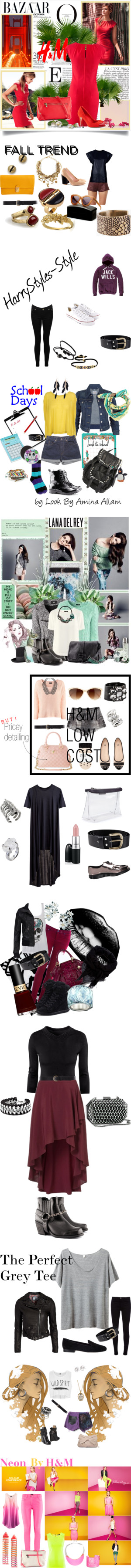 """""""13 HONESTY KEEPS YOU - HM Bag, Earrings & Belt"""" by ronit-weinstein ❤ liked on Polyvore"""