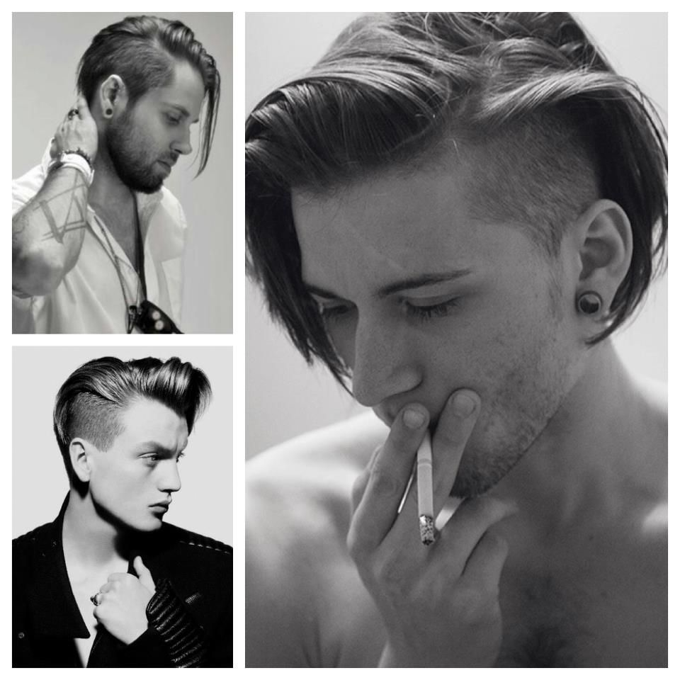 Mens short undercut haircut loving the long hair undercut  style  pinterest  seattle trends