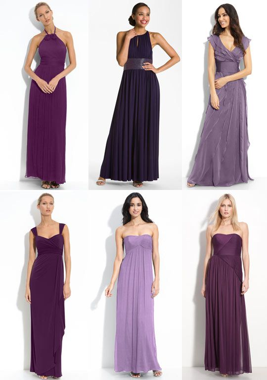 If you\'re a fan of floor length, Nordstroms has some lovely options ...