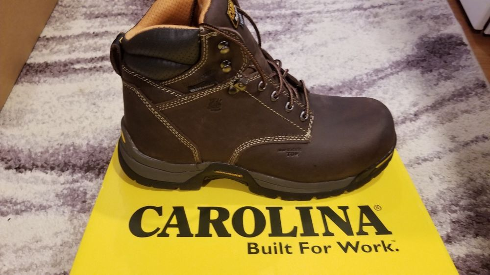 0794ce20e59 Carolina Boots MEN'S 11. Waterproof Insulated Broad Comp Toe Work ...