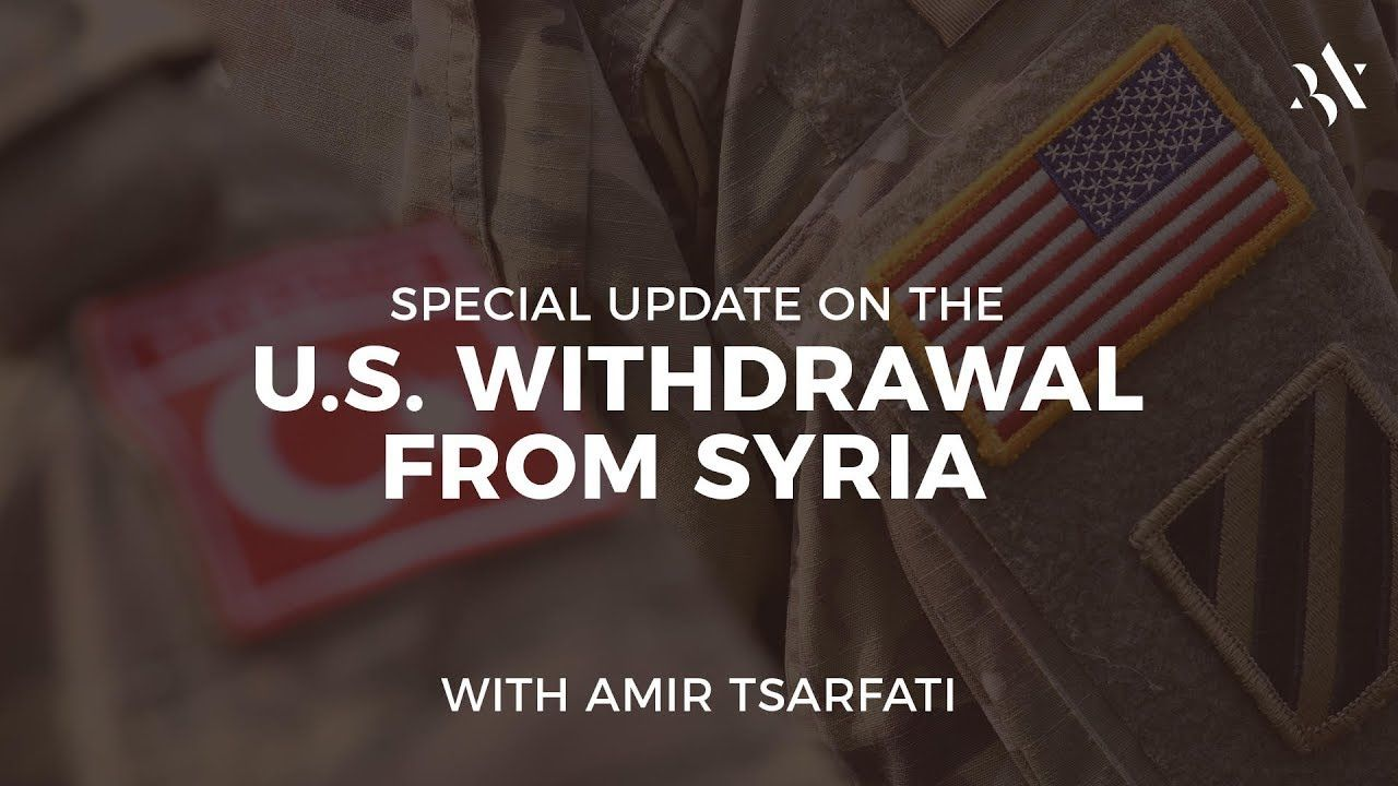 Special Middle East Update, Dec. 23, 2018                                 Amir's update on the behind the scenes of the decision to pull the US troops out of Syria and the chain reaction to it. #middleeast