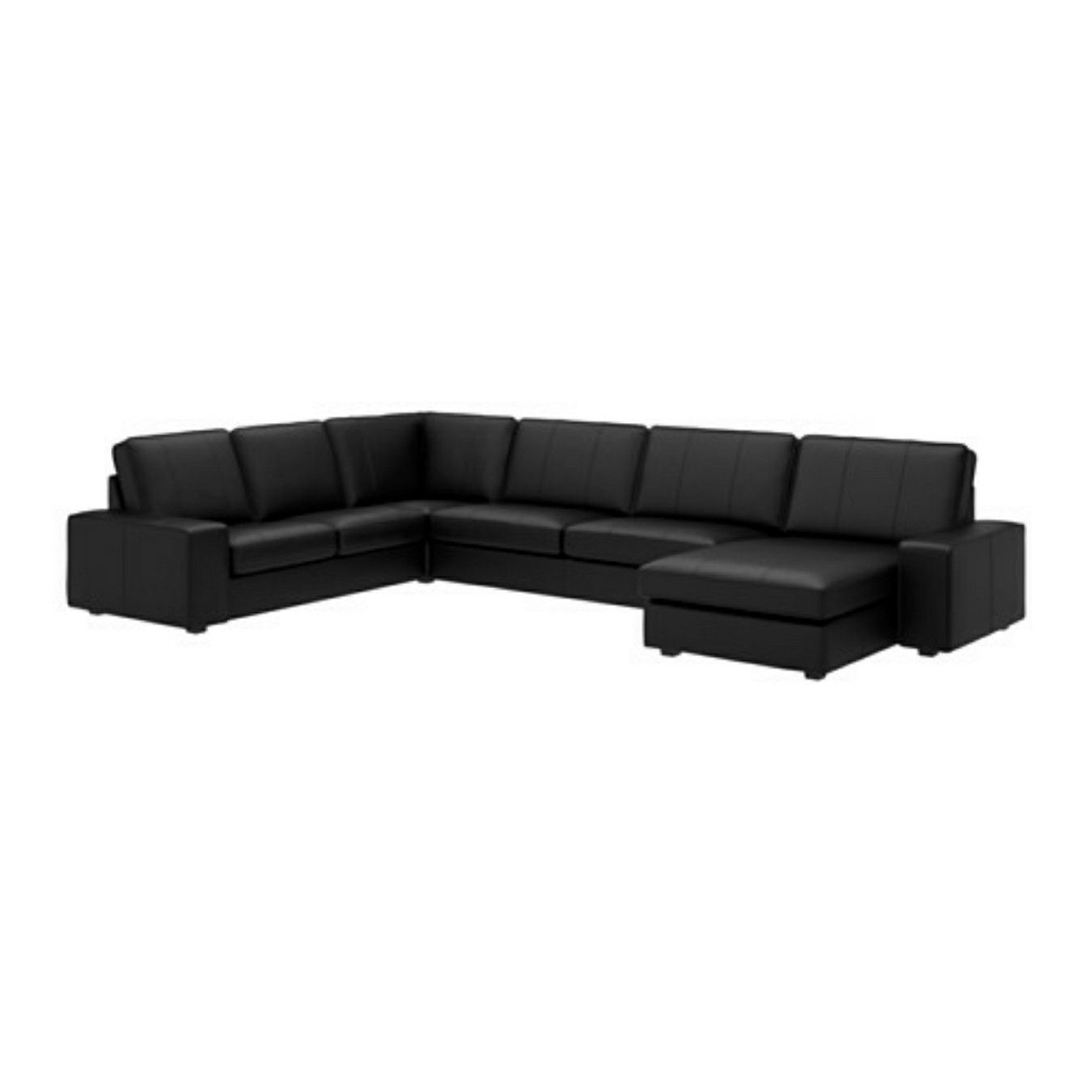 Leather Sofas Traditional Contemporary Ikea Black Leather Contemporary Sofa Karlstad Sofa Living Room Furniture Sofas