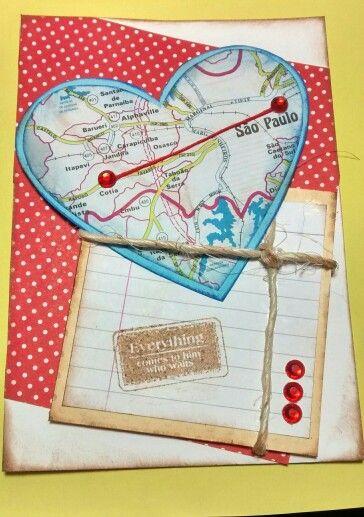 Cartão de aniversário!... By Ketley Mary