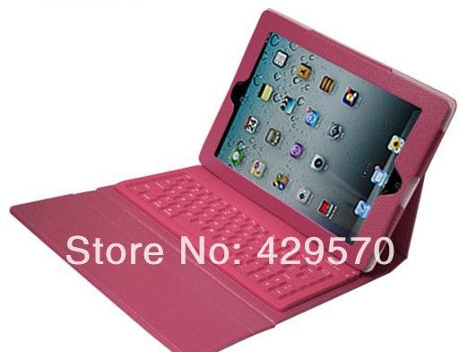 46947c4939 For Apple iPad 3 4 2 Stand Leather Case Flip Cover With Wireless Bluetooth  Keyboard Free