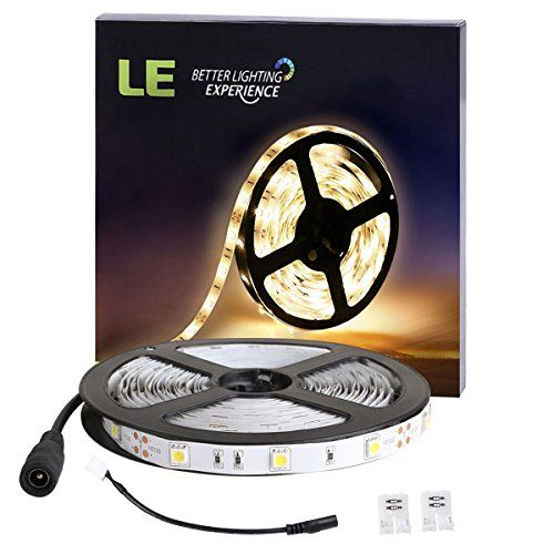 Le 12v Flexible Led Strip Lights 3000k Warm White 150 Units Smd 5050 Leds Nonwaterproof 12 Volt Led Led Strip Lighting Flexible Led Strip Lights Strip Lighting