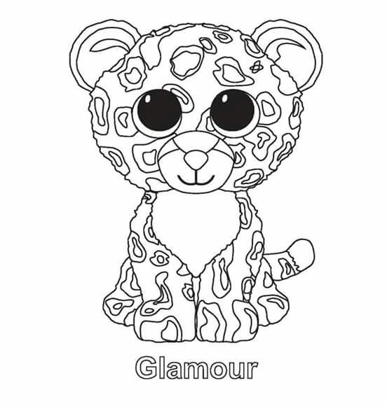 Cute Beanie Boos Coloring Sheets