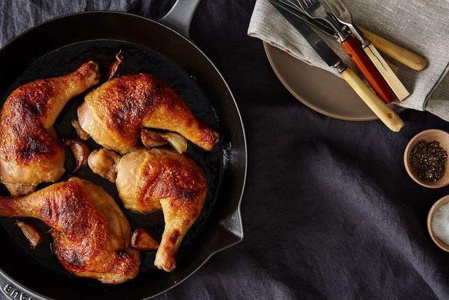 um jantar simples e saudável para a primavera: coxas de frango no forno com miso e mel | casal mistério | Bloglovin'